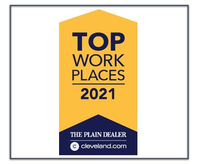 2021 Cleveland Plain Dealer Top Workplace