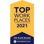 2021 Top Workplace Award
